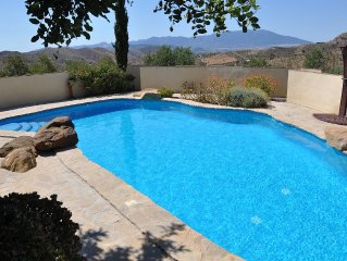 Villa with Private Pool Secluded in 23 Acres with Mountain Views