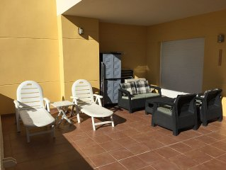 Apartment With 2  Pools With Safety Guard and Sea View, Reg.Nr. VFT/MA/00529