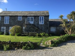 Converted Barn with Sea Views in grounds of former farm
