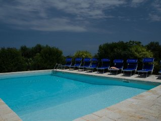 Lovely fully restored trullo country house, large pool and wifi