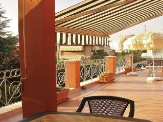 App.al mare, Lido di Pomposa con grande piscina privata e grande terrazzo