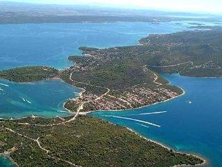 Casa sul isola Pasman acanto parco nazionale Kornati