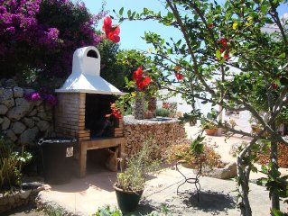 Casa rural con Jardín y piscina privada. WIFI gratuito