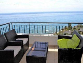 Torrox Costa: Luxury apartment Magnificent Sea Vi