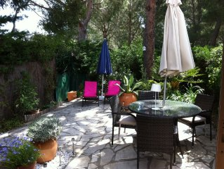 Pretty Garden Apartment in St Tropez Area