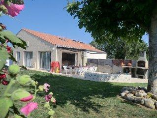 Villa indépendante de qualité 4 chambres  près des Sables D' Olonnes