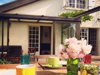 Maison de vacances familiale avec jardin