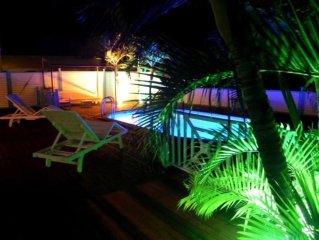 Villa créole avec piscine à deux pas de la plage des Salines et de Ste-Anne