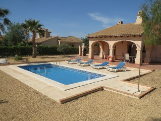 Spacious, well appointed, detached Villa With Pri