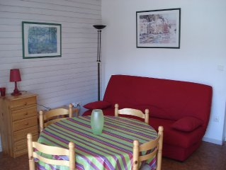 Saint Lary Soulan: Sunny, peaceful apartment in a small residence