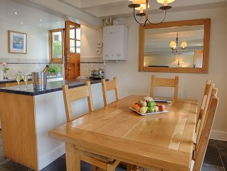 Four Star Gold rated Cottage In Fowey, Cornwall
