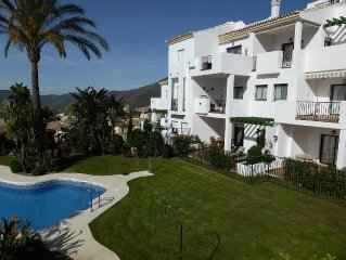A Ground Floor Apartment on Atalaya with communal pool on Alhaurin Golf