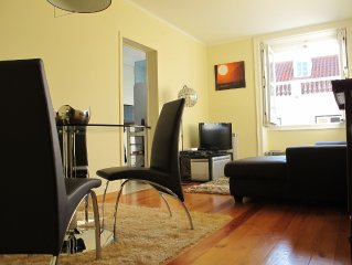 Elegant, Sunny, Cozy, Balcony, Central Location, Fully equipped, AC, WIFI, Lift