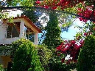 Independent studio (loft) in villa with beautiful garden 4 km from Aldeia do Me