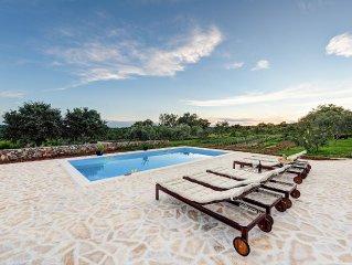 PRESEASON DISCOUNT! Authentic Restored Dalmatian villa with Swimming Pool