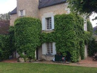 Montresor maison Tourangelle dans le 2eme village prefere des Francais