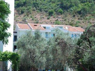 Spacious apartment on the Budva Riviera, 350 metres from a beautiful beach