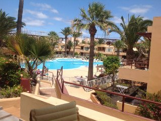 Accommodation on quiet complex with Pool Views, Free WiFi & Uk Tv.
