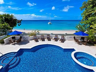 Luxury Beach Villa Offering Stunning Sea Views And A Private Pool