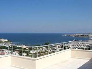 3 Bed Duplex Apartment With Magnificent Sea Views & large Terraces, Full A/C.