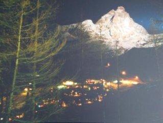 Vista eccezionale sul monte Cervino - Appartamento bilocaleconfortevoleCervinia