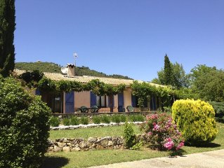 Traditional Provencal Villa With Private Heated Pool