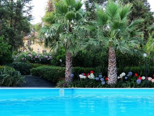 Luxury Sicilian Villa with a private pool and park, at Etna slopes
