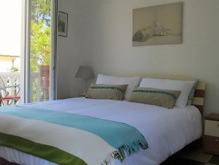 Wonderful Location 50 meters from the sea with car parking
