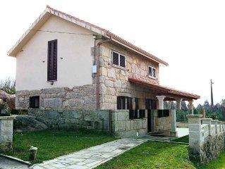 Carnota: House with garden - Carnota