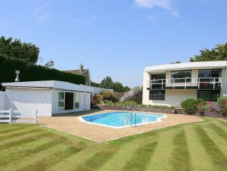 Beach front house in East Preston, West Sussex, o