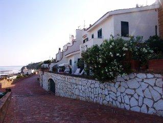 Villa indipendente sul mare con panorama mozzafiato del Golfo di Castellammare