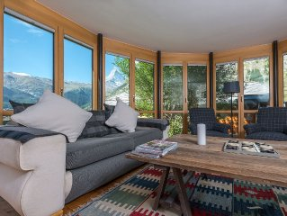 Superior Apartment With Garden And Stunning Views Of Matterhorn.  Fast Wifi.