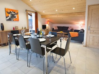 Renovated apartment 5 mins drive from ski lifts for Avoriaz & Morzine.