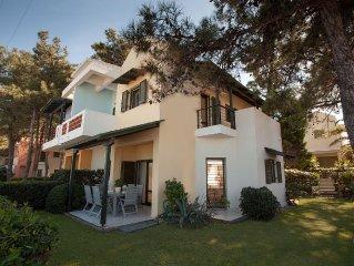Luxurious Beachfront Villa | Chalkidiki Kassandra Pefkochori