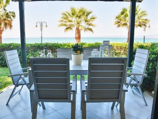 Luxurious Beachfront Villa | Chalkidiki Kassandra Pefkochori