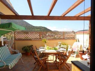 Deliziosa casetta con terrazza panoramica