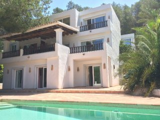 7 bedrooms, 6 bath, Can Blanc, Luxury Villa Private Pool And Best Sea Views