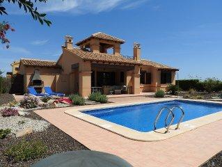 Hacienda del Alamo Golf Resort, Costa Calida, detached villa with private pool
