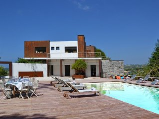 Villa for 14 people, pool with terrace and its own pitch & put golf course