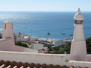 Apartment with 180 Views Overlooking The Sea In Quiet Fishing Village