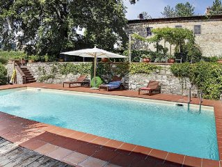 Villa With Private Pool In The Heart Of The Chianti Region
