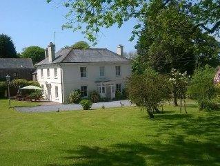 Luxury Grade II Listed Georgian Farmhouse Set In Extensive Gardens