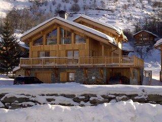 Superb Chalet Les Menuires 12 pers- Les 3 Vallées - the slopes