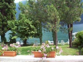 Porlezza: Villetta con giardino con accesso direttamente al lago di Lugano
