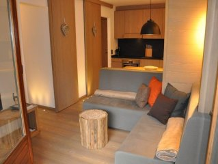 appt entirely renovated 5 minutes walk from the center Megeve