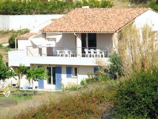 Maison de Charme avec Jardin, vue mer et montagnes,  village tout à pied, 14 p