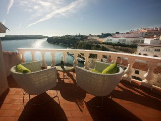House With Magnificent View Of Calas Fonts Bay,Famous Fishing Village Es Castell