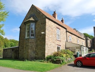 Finchale Abbey, first floor apartment within an historic 11th Century Farmhouse.