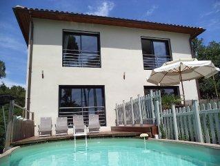 Magnifique Villa, jacuzzi et piscine prives, classee 5*