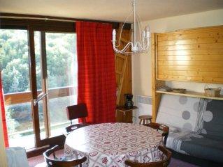 Appartement de 48m2 dans residence 'Vostock' Le Corbier 6 a(8 maxi)personnes